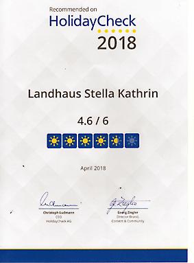 Landhaus Stella Kathrin in Olpenitz an der Schlei